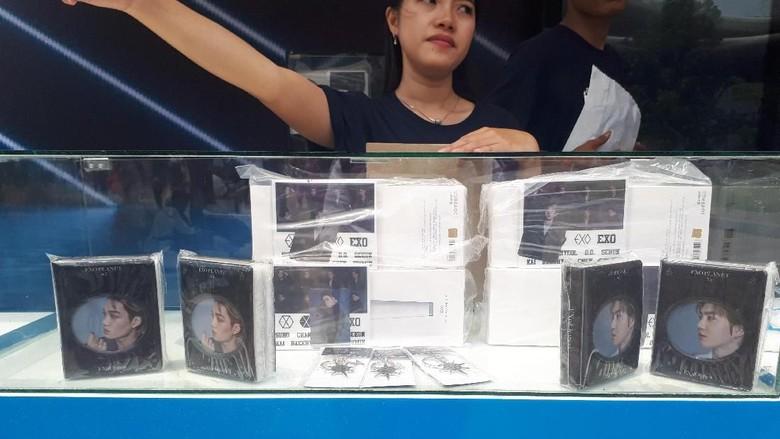 Foto: Merchandise EXO (Delia/detikcom)