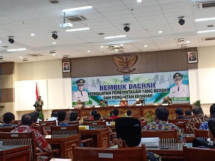 Acara rembuk Pemkab Probolinggo/Foto: Istimewa