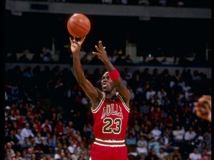 Michael Jordan jadi salah satu ikon olahraga 1990-an (Getty Images)
