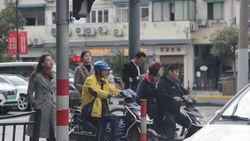 Masyarakat China Terbiasa Pakai Skuter Listrik