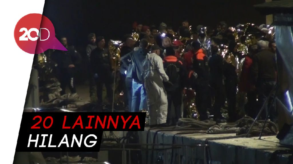 149 Migran Diselamatkan Petugas Penjaga Pantai Italia