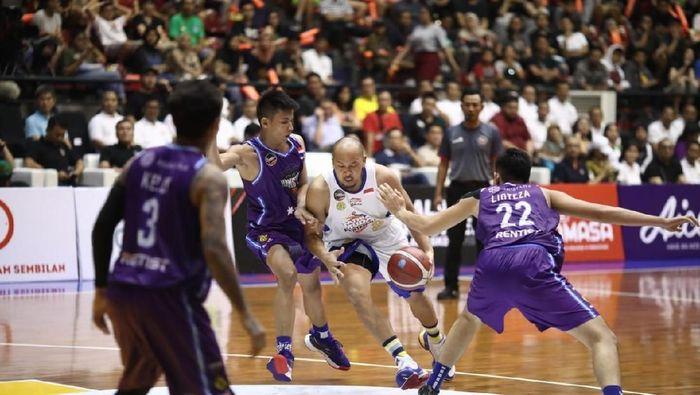 Satria Muda Pertamina kalahkan Amartha HangTuah di final Piala Presiden Basket 2019 (dok.Satria Muda)