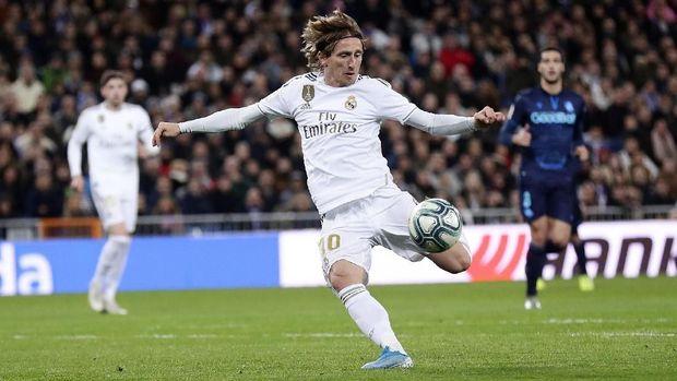 Real Madrid tidak terlalu fokus untuk memenangkan penguasaan bola.