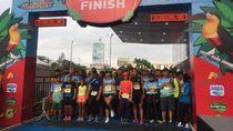 Ribuan Runners Pontianak & Jogja Kompakan Lari Bareng