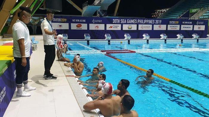 Timnas polo air berlatih di Filipina. (Foto: dok. Ist)