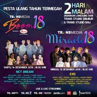 Wow, EXO & NCT Dream Bakal Meriahkan HUT 18 Transmedia!