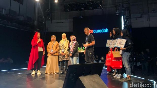 Peluncuran platform digital Toko Awadah oleh Yenny Wahid di Jakarta, akhir pekan kemarin.Peluncuran platform digital Toko Awadah oleh Yenny Wahid di Jakarta, akhir pekan kemarin