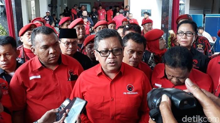 Sekjen PDIP Hasto Kristiyanto Foto: Pradito Rida Pertana/detikcom