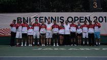 Laga Pemanasan Timnas Tennis Indonesia Jelang SEA Games 2019