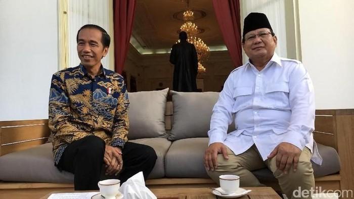 Foto: Jokowi dan Prabowo (detikcom)