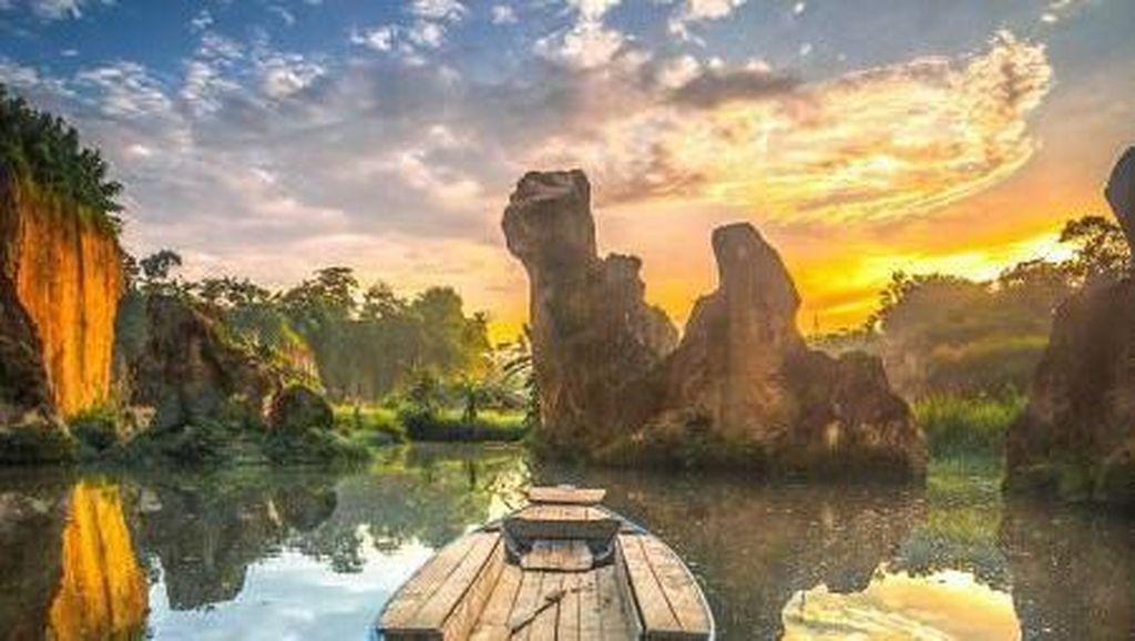 Ini Tebing Koja Tangerang Lho, Bukan Rammang-rammang