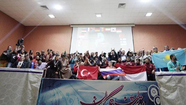 Indonesia Runner-up Kejuaraan Panahan Berkuda di Iran