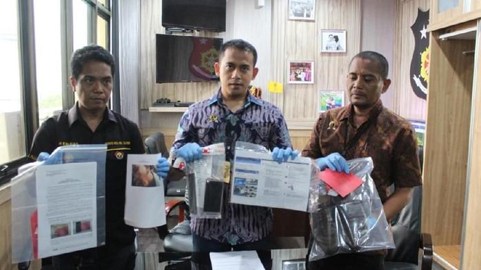 Polres Pelabuhan Tanjung Priok Tangkap Karyawan JICT Pelaku Penghinaan (dok. istimewa)