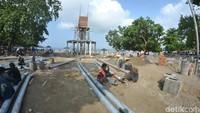 Proyek pembangunan senilai Rp 37,3 miliar ini ditargetkan selesai pada 10 Desember 2019.