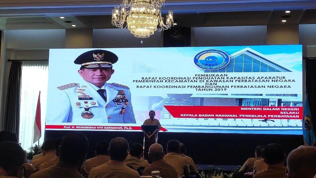 Rakor BNPP, Tito Bicara Perkuat Perbatasan demi Cegah Narkoba-Terorisme