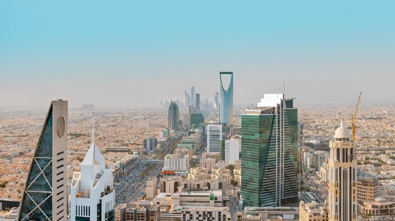 Ilustrasi kota Riyadh di Arab Saudi. (Foto: iStock)
