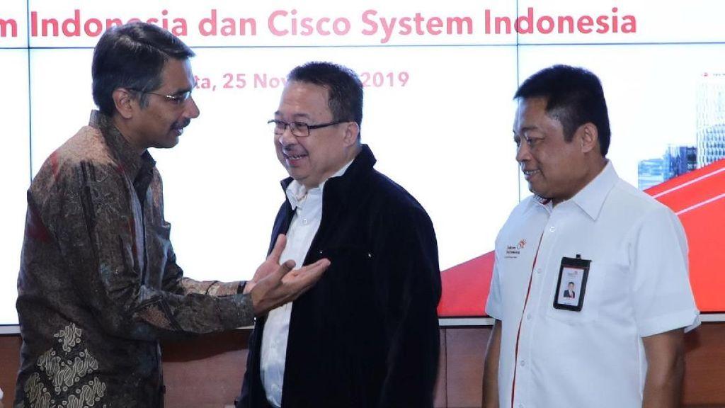 Telkom Gandeng Cisco Kembangan Bisnis Cloud