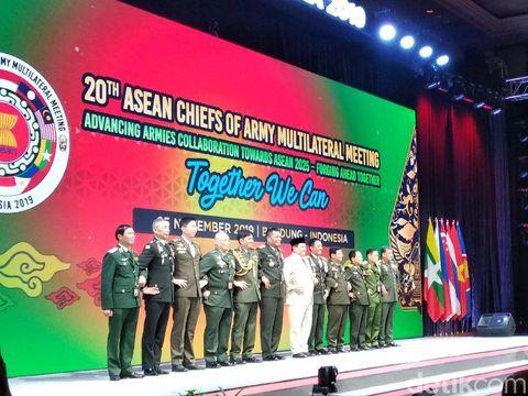 Prabowo Ingatkan Ancaman Terorisme di Hadapan Delegasi Militer ASEAN