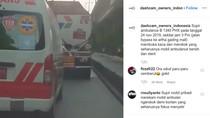 Viral Driver Ambulans Merokok Saat Bertugas, Dikomentari Dinkes DKI