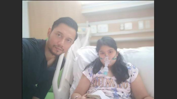 Cucu SBY, Almira Tunggadewi Yudhoyono, dirawat karena sakit.  (Foto: Instagram/agusyudhoyono)