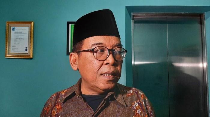 Juru Bicara Maruf Amin, Masduki Baidlowi. (Lisye/detikcom)