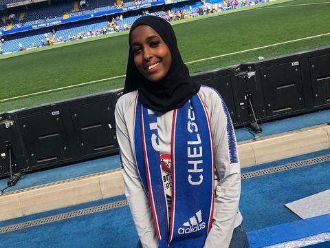 Kisah Inspiratif Hijabers Kulit Hitam yang Berkali-kali Ditolak Klub Bola
