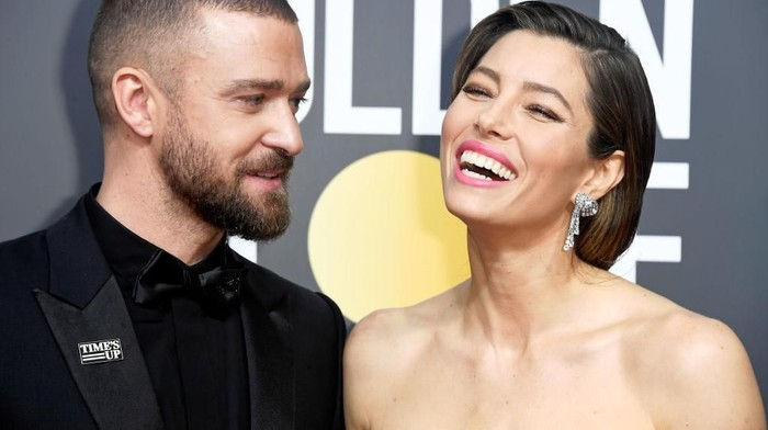 HOLLYWOOD, CA - FEBRUARY 26:  Actor/musician Justin Timberlake and actress Jessica Biel attend the 89th Annual Academy Awards at Hollywood & Highland Center on February 26, 2017 in Hollywood, California.  (Photo by Frazer Harrison/Getty Images)