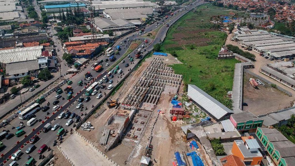 Penampakan Terkini Proyek Jalan Tol Cisumdawu