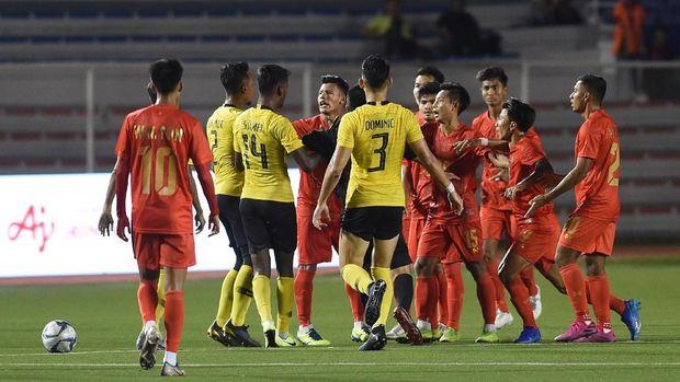 Myanmar lolos ke semifinal SEA Games 2019 berstatus sebagai juara Grup A.