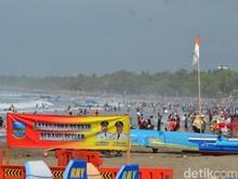 Foto: Menantikan Kemolekan Wajah Baru Pantai Pangandaran