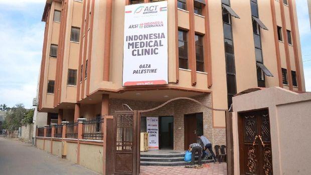 ACT Dirikan Indonesia Medical Clinic Layani Ratusan Korban Gaza