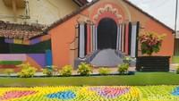 Siapa yang tak kenal dengan Legenda Lutung Kasarung dari Jawa Barat. Konon, legenda ini berasal dari Desa Gunung Cupu, Kecamatan Sindangkasih, Kabupaten Ciamis, Jawa Barat. (Dadang Hermansyah/detikcom)