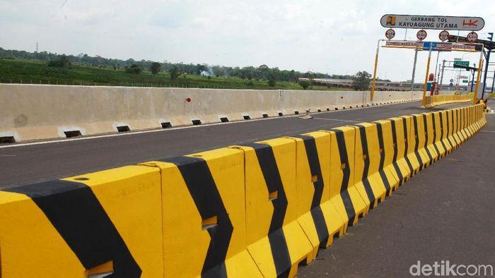Tol Kayu Agung-Palembang Foto: Dikhy Sasra