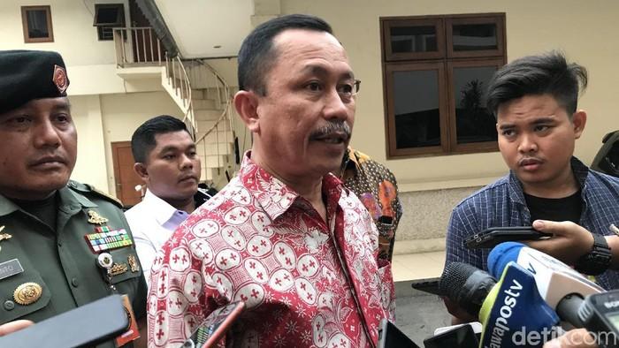 Ketua Komnas HAM Ahmad Taufan Damanik (Rolando/detikcom)
