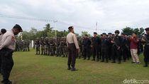 Pelantikan Anggota DPRD Mimika Dijaga Ketat: 800 Personel-Panser Dikerahkan