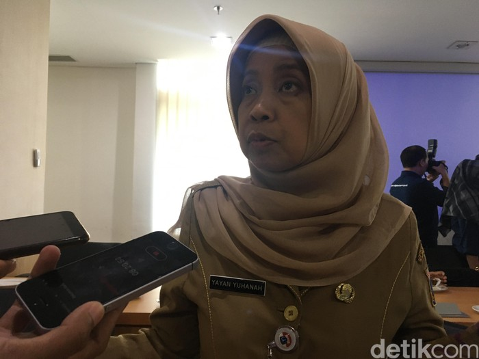 Kepala Biro Hukum DKI Jakarta Yayan Yuhanah (Foto: Arief Ikhsanudin/detikcom)