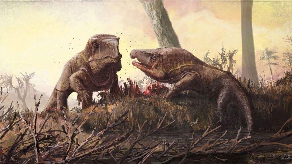 Ilmuwan Ungkap Wujud Monster Purba Mirip Komodo