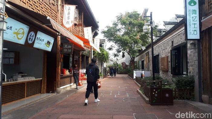 Nantang Old Street di Ningbo. Zhejiang, China. Foto: Hestianingsih/Wolipop