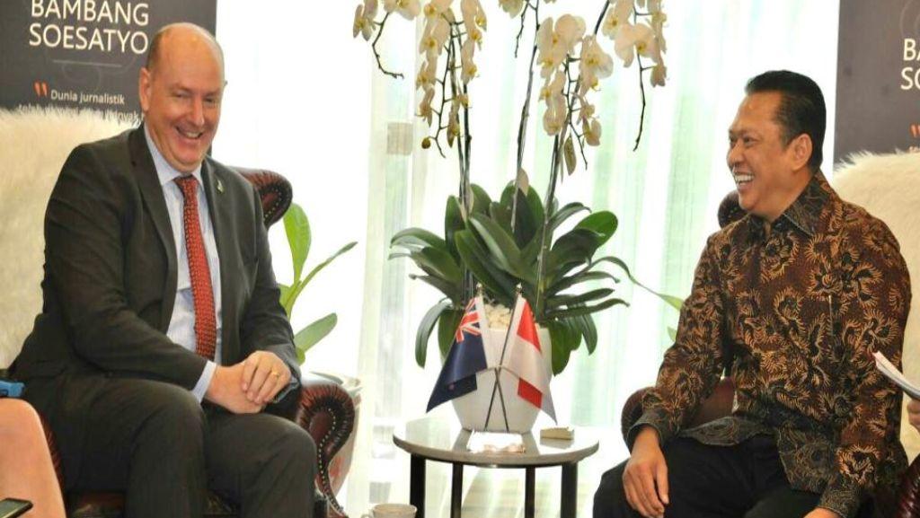 Ketua MPR Dorong Peningkatan Ekspor Non Migas ke Selandia Baru