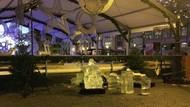 Tragis! Bocah Tewas Tertimpa Runtuhan Pahatan Es Dekorasi di Pasar Natal