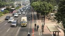 Tilang Berlaku, Jalur Sepeda di MH Thamrin Bebas dari Mobil-Motor