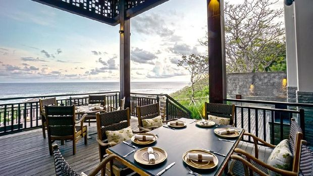 restoran Bejana di The ritz-Carlton Bali