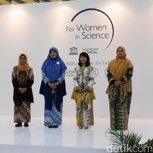 4 Ilmuwan Wanita Indonesia Raih Penghargaan Paling Inspiratif di 2019