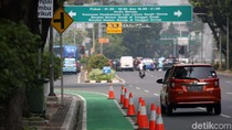 Polisi Sebut Jalur Sepeda Jakarta Pusat Banyak Diserobot Pemotor