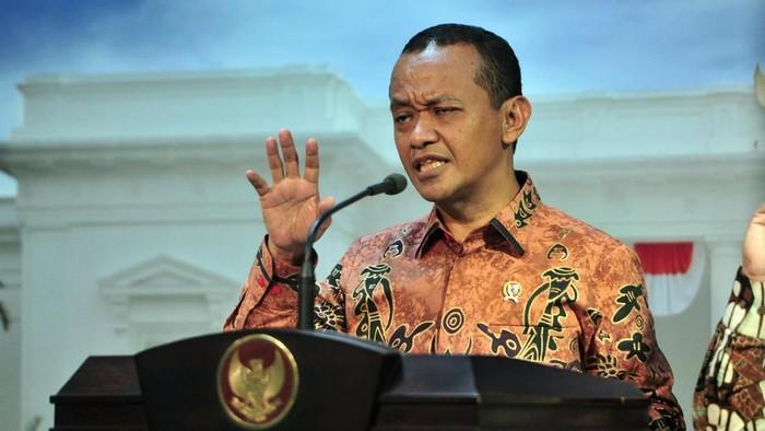 Kepala Badan Koordinasi Penanaman Modal (BKPM) Bahlil Lahadalia