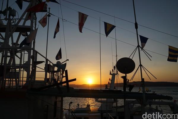 Pelabuhan Tenau merupakan salah satu pelabuhan yang menghubungkan Kupang dengan Pulau Rote. (Syanti Mustika/detikcom)