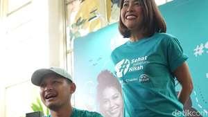 Tawa Sumringah Ria Irawan Jalani Kemoterapi