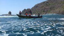 Kapal Terbalik Dihantam Ombak, Ayah-Anak Hilang di Pantai Gunungkidul