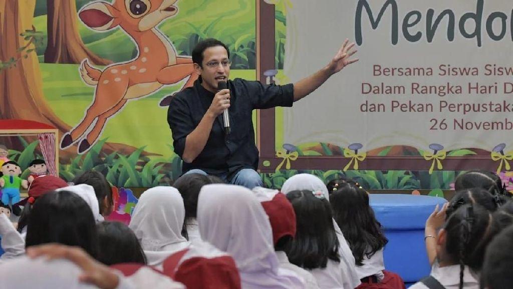 Peluncuran Guru Penggerak, Nadiem : Banyak Guru Menangis di Depan Saya