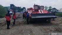 Keren! Ini Tank Baja Khusus Pemadam Api Buatan Pindad